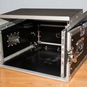 Rack con bandeja para ordenador