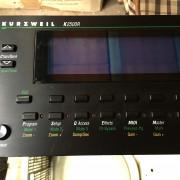 Kurzweil k2500r KDFX
