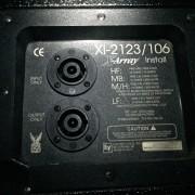 2 Electrovoice Electro voice EV X Array