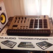 Controlador midi Trigger Finger Pro y tarjeta roland EDIROL FA-101