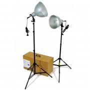 Vendo 2 Focos de tungsteno para grabación vídeo, fotografía #youtubers#fotógrafos