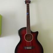 Guitarra acústica Crafter EG 110CEQ