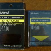 Tarjetas SN-U110 ROM para Roland U110 U20 U220...