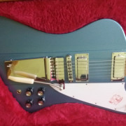 Gibson Firebird Lyre Tail Vibrola en Pelham Blue Limited Edition