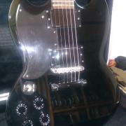 Epiphone Tony Iommi Signature SG Ebony Electric Guitar Korea zurda