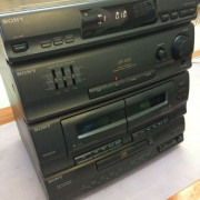 Minicadena Stereo SONY HCD-A190 doble pletina, Reproductor CD - Reproductor FM