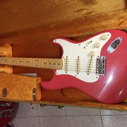 Fender Stratocaster 57 Custom Shop Journeyman Relic Faded Fiesta Red