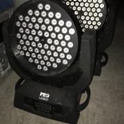 Cabezas led 72x3 pro light