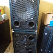Trace Elliot 2103H + 1153T bass cabinets