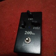 Lovepedal 200lbs fuzz