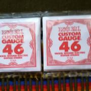 2 Juegos de Cuerdas Ernie ball 11- 46