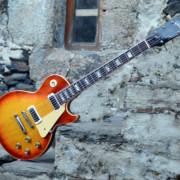 Gibson Les Paul Deluxe Cherry Sunburst (1974)