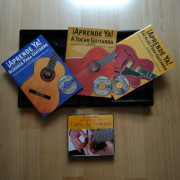 Vendo: Curso de guitarra: Incluye 3 CD´s,3 libros y 1 DVD.