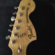 Fender Stratocaster classic series '70s Japan HN Yellow White