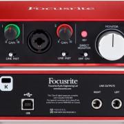 Focusrite Scarlett 2i2 2nd Gen - Interface Audio USB