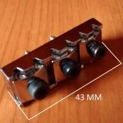 Ibanez locking nut cejuela con traba cromada NUEVA (ENVÍO GRATIS)