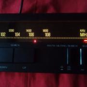 TUNER  retro con  auto search T7 SANSUI stereo