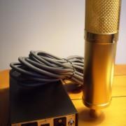 Lawson L47 tube Mic gold