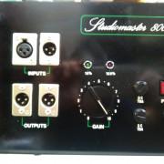 AMPLIFICADOR ETAPA STUDIOMASTER 800 C