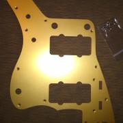 Golpeador aluminio Fender Jazzmaster gold como NUEVO
