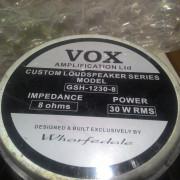 Altavoz wharfedale Vox AC30