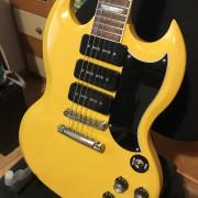Gibson SG Gary Clark Jr. Signature Gloss Yellow