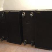 Vendo cuatro cajas COTPEL y etapas Das PS1400