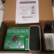 Pedalera de efectos para guitarra acústica Zoom A2 1u