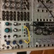 Modular, modulos, caja, cables