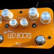 Cambio Rockett Led Boots por Xotic wah o Fulltone ClydeDeluxe wah