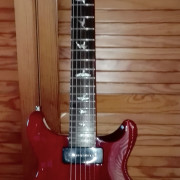 Guitarra PRS SE Santana.  Color Vintage Cherry