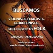 Grupo Folk busca músicos