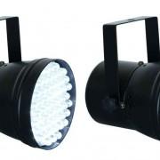 2 BEAMZ 151264 Foco LED PAR 36 DMX Spot Luz Blanca