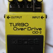 Boss OD-2 Turbo OverDrive Japan 1986 envio gratis
