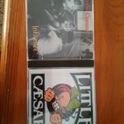 2CDs de Little Caesar - S/T + Influence.