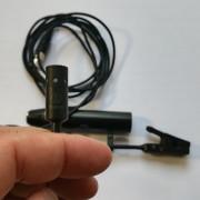 Micrófonos Pro 35 son 2 Audio Technica con sujeción tipo clip