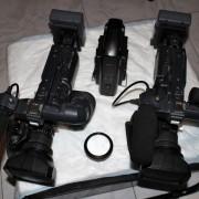 Dos videocamaras profesionales JVC  HDV