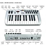 M Audio Ozone controlador/tarjeta de sonido