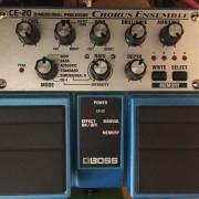 Boss Chorus Ensemble CE-20. Pedal efectos guitarra bajo