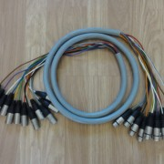Manguera 12 pares 230 cm XLR M/H Neutrik