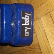 dunlop cry baby blue sparkle