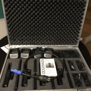 Maleta mecanizada con 4 x walkies kenwood tk 3201