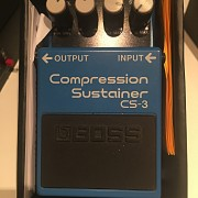 Vendo pedal boss Compression sustainer cs-3