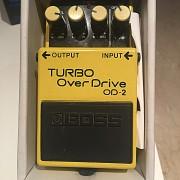 Vendo pedal boss Turbo overdrive od-2