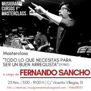 Masterclass TODO LO QUE NECESITAS SABER PARA SER ARREGLISTA - F. Sancho