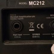 Pantalla marshall mc 212