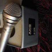 Vintage AKG D310 Cardioid Dynamic Microphone, recording