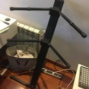 Stand de teclado doble Ultimate Support DX-48 Deltex Pro