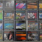 Librerías musicales en CD audio