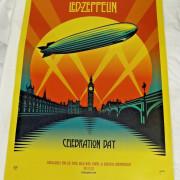 Poster LED ZEPPELIN Celebration Day NUEVO